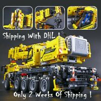 2606Pcs Technic Motor Power Mobile Crane MkII Model Building Blocks FitWith Lego