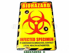 Bio Hazard Infected Specimen Wooden Door Plaque/ Sign for Children's/ Kids Room