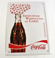 COCA-COLA COKE Allemagne 21 cm tôle métal plaque panneau métallique motif: