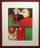Le Corbusier - Ritratto, litografia 1960, 40X33 Mourlot Frères Paris