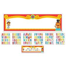 Fisher Price Circus 1st Birthday Personalizable Giant Sign Banner
