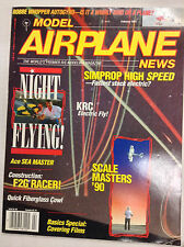 Model Airplane News Magazine Simprop High Speed February 1991 041517nonrh