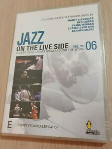 Jazz On The Live Side Volume 06 DVD All Regions PAL *RARE*