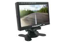Monitor 7 Pollici HD TFT LCD A Colori HDMI Con Telecomando Per Auto Camper Casa