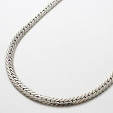"Pure Titanium 11g Polished Herringbone Chain Necklace 23.5"" Elegant & Health"