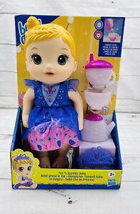 "Baby Alive Tea ""n Sparkles Princess Baby Doll New Q"