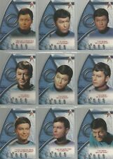 "Star Trek 35th Anniversary - ""Best of Bones"" Set of 9 Chase Cards #BB1-9"