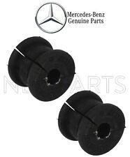 NEW Mercedes W203 C209 C230 C350 Pair Set of Rear Sway Bar Bushings 15mm Genuine
