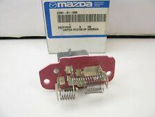 NEW GENUINE HVAC Blower Motor Resistor OEM For Mazda ZZM161D85