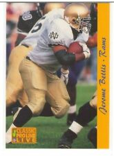 Pick 35 1991 1992 1993 1994 Classic Proline Live Bowman Wild Card  Football