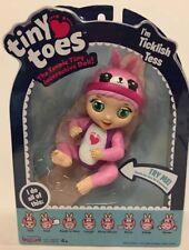 *NEW*  TINY TOES Interactive Doll *TICKLISH TESS*  Bunny