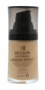 REVLON Photoready Airbrush Effect Foundation SPF20 003 SHELL 30ml New