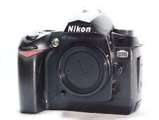 Nikon D D70 6.1MP Digital SLR Camera - Black (Body only)+BATTERY+CHARGER