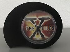 X-files  1996 clock wall new alarm clock black red yellow