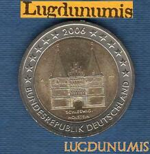 2 euro Commémo - Allemagne 2006 Lubeck A Berlin Germany