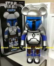 Medicom 2016 Expo Bearbrick Star Wars 1000% Epsoide IV Jango Fett Be@rbrick 1pc