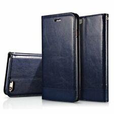 iPhone 7 / 8 wallet / portemonnee case hoesje - blauw
