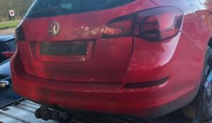 Vauxhall Astra J Estate Rear Bumper Power Red 2011 Used