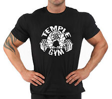 """T-Shirt Bodybuilding Fitness Palestra """" Temple Gym ''"""