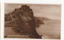 Castle Rock, Valley of Rocks, Lynton W.H. Smith RP Postcard, A458