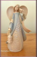SISTER ANGEL FIGURINE BY ENESCO FOUNDATIONS 7.5  IN. HIGH FREE U.S. SHIPPING