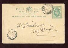 CAPE of GOOD HOPE 1904 KE7 STATIONERY..KINGWILLIAMSTOWN