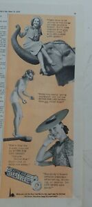 1939  Life Savers butter rum candy mints elephant diving board vintage ad