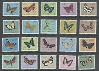 Portuguese Mozambique   1953   Butterflies Complete   MVLH OG