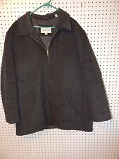 Mens Pronto-Uomo Wool winter jacket - Gray - XL