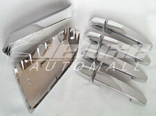 Chrome Mirror Covers + Door Handle Covers for 2014 2015 2016 Chevy Impala