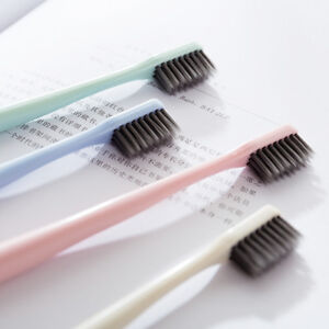 Super Soft Bamboo Charcoal Toothbrush Travel Toothbrush 1X