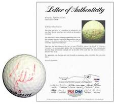 Autographed Golf Ball Signed by Tiger Woods - *RARE* Full PSA Letter
