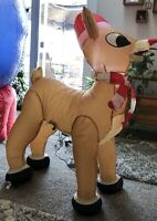 Gemmy Rudolph the Red Nosed Reindeer 3.5 Ft Light Up Airblown Inflatable