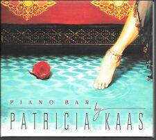 CD ALBUM DIGIPACK 14 TITRES--PATRICIA KAAS--PIANO BAR BY PATRICIA KAAS--2002