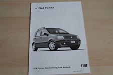 95259) Fiat Panda - Preise & technische Daten & Ausstattungen - Prospekt 04/2005