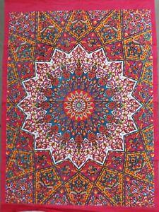 Yoga Mat Indian Mandala Wall Tapestry Dorm Bohemian Hanging Art Decorate Posters