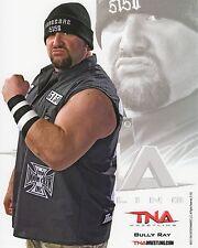 "BULLY RAY TNA WRESTLING IMPACT PROMO PHOTO 8x10"" TEAM 3D DUDLEY BOYZ wwe"