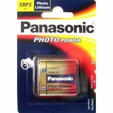 1 x Panasonic CRP2 6V Lithium Power Photo Battery 223 CR223 DL223 2029 Expiry