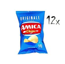 12 Amica Chips Classica Originale Patatine Kartoffelchips gesalzen 50g Kartoffel