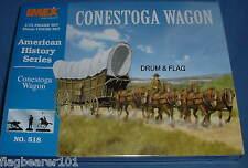 IMEX 518 - CONESTOGA WAGON - 1/72 SCALE UNPAINTED PLASTIC