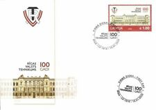Latvia 2020 (02) Riga State Technical School - 100 years (unaddressed FDC)