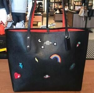 Coach DISNEY RAINBOW Tote Bag F31065