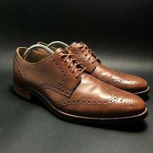 Cole Haan Madison Mens Brown Wingtip Oxford II Derby Shoes Size 10.5 M C12845