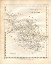 Yorkshire 1700-1799 Date Range Antique Europe Sheet Maps