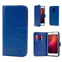 Book Wallet PU Leather Case Cover For Xiaomi Phones