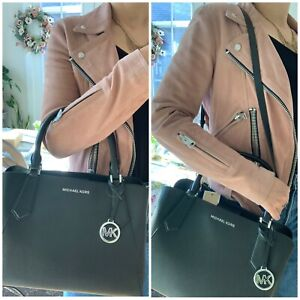 Michael Kors Large Kimberly Satchel Crossbody Bag