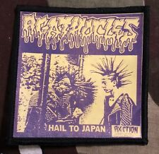 Agathocles Hail To Japan Printed Patch A040P Man Is The Bastard Mincecore