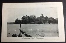 Vintage Postcard Palace & Loch Linlithgow, BW, unused