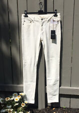 NWT Saint Laurent Men's White Skinny Faux Leather Pants Size 30