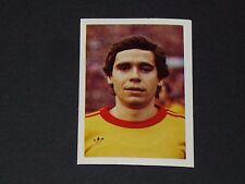 N°68 ROTT DUKLA PRAHA PRAGUE CSSR C1 FOOTBALL BENJAMIN EUROPE 1980 PANINI